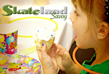 Skateland is the areas #1 location for your birthday parties.